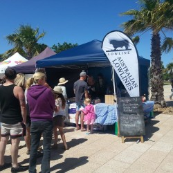 CLB market stall - Mt Gambier