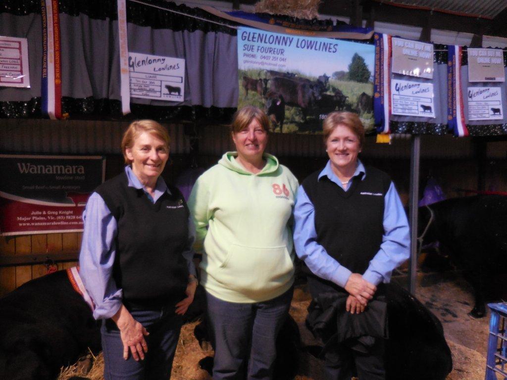 Sue Foureur (Glenlonny), Linda Williams (Lindara) & Julie Knight (Wanamara)