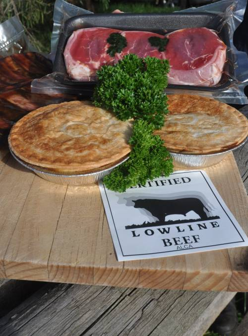 Certified Lowline Beef & Lowline Pies (Photo courtesy of the Stock Journal)